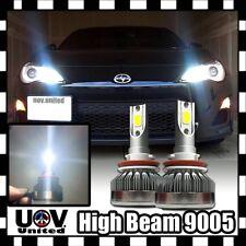 2 x 9005 HB3 9145 CREE COB LED White 6500K Light Bulb DRL High Beam Lamp Power