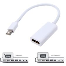 Thunderbolt Mini DisplayPort DP to HDMI AV Adapter for Apple Macbook Pro Air Mac