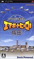 Used PSP Boku ha Koukuu Kanseikan Airport Hero Narita Import Japan