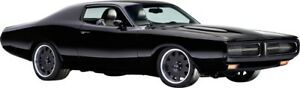 WALL STICKERS DODGE Charger black CARS the Fast and the Furious Decor Sticker