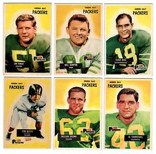 1955 Bowman GREEN BAY PACKERS team set--J.Ringo RC!!