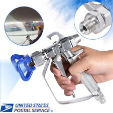 3600PSI Airless Paint Spray Gun w/ Tip Guard Water-based Oil-based Paint Spayer