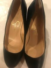 Jessica Simpson Black Wedge Shoe Size 9.5