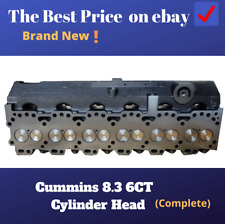 Cummins 8.3 8.3L 6C 6CT 6CTA Loaded Cylinder Head(NEW)---FREE SHIPPING(from US)