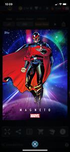 Topps Marvel Collect Universe Cosmic Magneto DIGITAL Super Rare! cc377