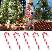 50pc Candy Cane Christmas Tree Crutch Pendant Hanging Ornament Xmas Gift 5/6.5cm