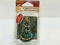 "Lemax Holiday Village Christmas Tree Figure 2.5"" Tall Polyresin #92743"