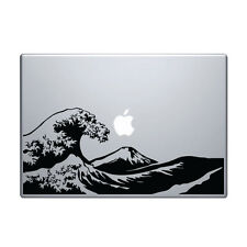 "Macbook Aufkleber Sticker Decal skin Air Pro 11"" 13"" 15"" 17"" zoll hokusai Japan"