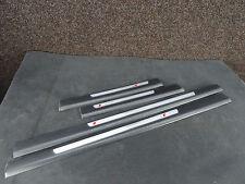Original Audi A6 4F Set Einstiegsleisten S LINE SLINE Türleisten 4F0853373E F5