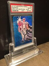 2015 Fleer Retro Precious Metal Gems PMG blue Magneto #24 PSA Gem MINT 10!