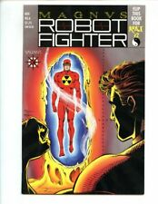 Magnus Robot Fighter #6 (1991) Rai #2 Flip Book Cards and Coupon Attached NM