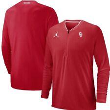 Nike JORDAN Brand OKLAHOMA SOONERS Crimson Coaches Performance Jacket New