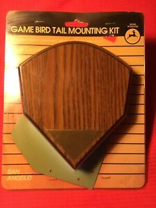 Game bird tail mounting kit San Angelo