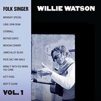 Willie Watson - Folk Singer Volume 1 [CD]