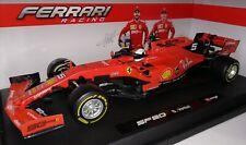 Bburago F1 Scuderia Ferrari SF90 2019 #5 Sebastian Vettel 1/18