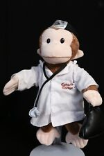 """Curious George 10"""" DOCTOR Plush Toy Doll Applause"""