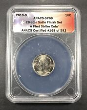 2010-D Satin Finish Roosevelt Dime ANACS SP-69, Buy 3 Items, Get $5 Off!!