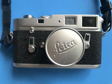 Vintage Leica M4 35MM Rangefinder with Summicron 50MM f2 lens