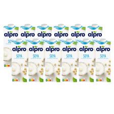 Alpro Sojadrink Original, 1 Liter, 12er Pack