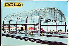 """NEW"" POLA 206 Double track station canopy (unmade kit)  ""BOXED""  N Gauge (R166)"