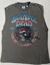 Grateful Dead 1974 Civic Center Philadelphia byJunkFood Sleeveless SMALL T-shirt