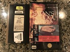 Satan's School For Girls Vhs! Awesome 1973 TV Horror!