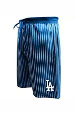 Majestic Los Angeles Dodgers Royal Big & Tall Pin Stripe Shorts Size XLT