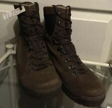 Meindl Brown Suede  Genuine Army Issue Combat Male Desert Boots 8M UK MDL28M