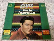ELVIS PRESLEY ~ FUN IN ACAPULCO ~ 1963 RCA LPM-2756 ~ MONO PRESSING IN BAGGY