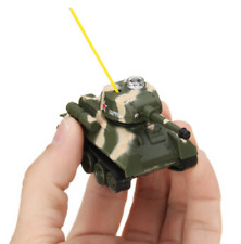 Mini Rc Tank Toy Remote Control Tank With Led Kids Toy Birthday Gift For Boys
