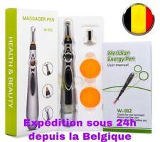 stylo acupuncture, Acupuncture Pen, Masseur Électrique, Tête de Massage