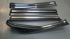 BMW 3 SERIES E46 98-06 TOURING FRONT REAR O/S N/S SILL COVER PLATES SET OF 4