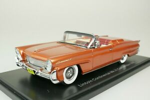 Lincoln Continental Mk III Convertible Cabriolet 1958 Gold 1/43 Neo 46111 New