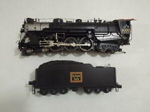 O gauge Sunset Models brass CB&Q 4-6-4 Hudson steam engine in original box