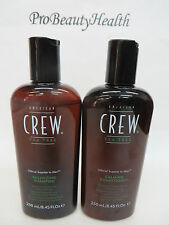 AMERICAN CREW TEA TREE Balancing Shampoo & Calming Conditioner  8.4 oz ea
