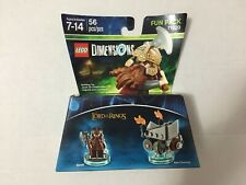 Lego Dimensions Fun Pack 71220 The Lord of the Rings 56pcs/pzs New!