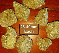28-40mm Large Piece Bright Pyrite Fools Gold Crystals Chakra Reiki Healing Fire