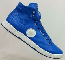Pataugas 1950 Blue Leather High-Top Sneaker Shoes Women's US 10.5 / EU 41