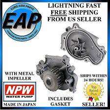 For 1993-2001 Honda Prelude 2.2L H22A1 VTEC Engine Japanese NPW Water Pump NEW