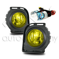 2008-2010 Scion XB Fog Lights w/Wiring Kit & HID Conversion Kit - Yellow