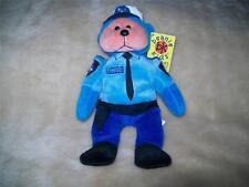 Beanie Kids  FREDDY THE POLICEMAN  NMT BK 309 Retired March 2004