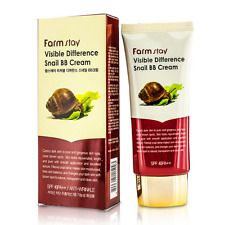 [FARM STAY] Visible Difference Snail BB Cream 50g (SPF40 PA++) / Korea Cosmetic