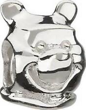 New Chamilia Disney WINNIE THE POOH HEAD Sterling Silver Charm Bead DIS-6 $45