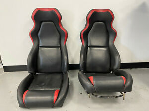 TVR Tamora T350 Tuscan Cerbera Seats Black and Red
