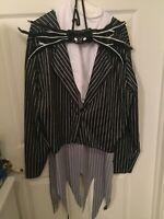 Jack Skellington The Nightmare Before Christmas Adult Size Costume XL 42-46
