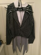 Jack Skellington The Nightmare Before Christmas Adult Size Costume XL 42-46