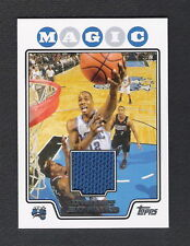 Dwight Howard 2008-09 Topps Jersey Card #TBKR12 Orlando Magic LosAngeles Lakers