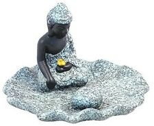 Circular Resin Thai Buddha Incense Holder (r99)