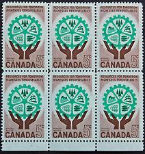 Timbre / Stamp CANADA - Yvert et Tellier n°322 x 6 n** (cyn6)