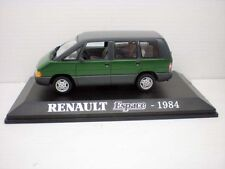 1/43 RENAULT ESPACE 1984 MONOVOLUMEN METAL CAR UNIVERSAL HOBBIES model diecast